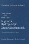 Lehrbuch der Hydrogeologie 1. Allgemeine Hydrogeologie, Grundwasserhaushalt