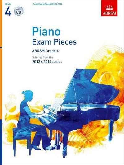 Piano Exam Pieces 2013 & 2014, ABRSM Grade 4, with CD