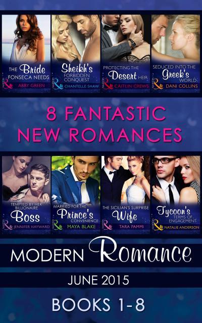 Modern Romance June 2015 Books 1-8