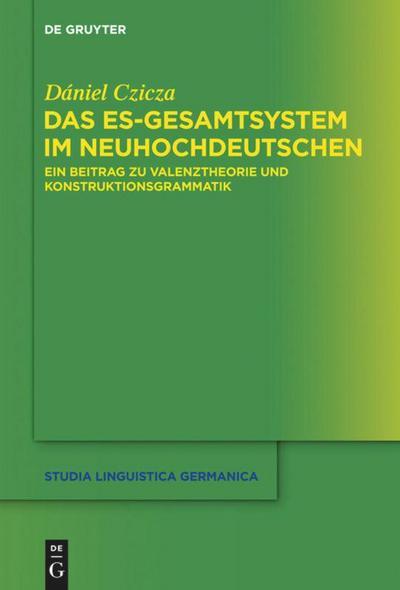 Das es-Gesamtsystem im Neuhochdeutschen