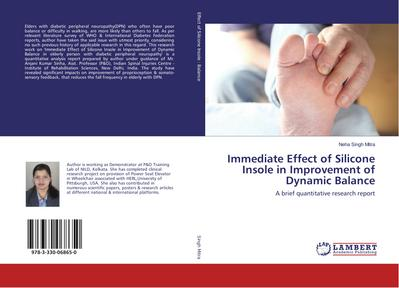 Immediate Effect of Silicone Insole in Improvement of Dynamic Balance