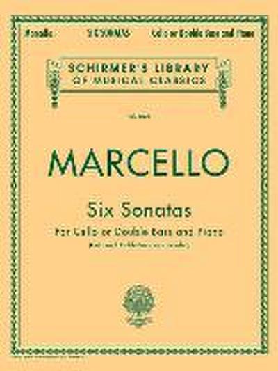 Six Sonatas: Schirmer Library of Classics Volume 1898 Score and Parts