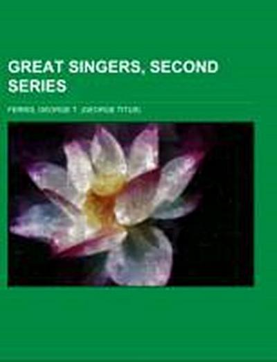 Great Singers, Second Series