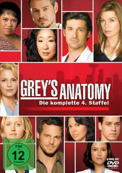 Grey's Anatomy: Die jungen Ärzte - Die komplette 4. Staffel [5 DVDs]