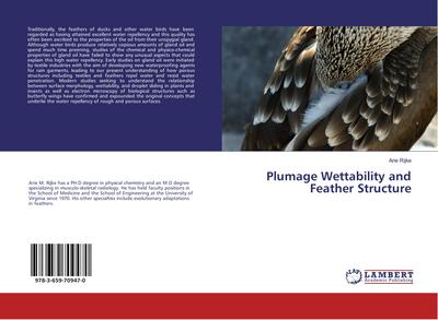 Plumage Wettability and Feather Structure