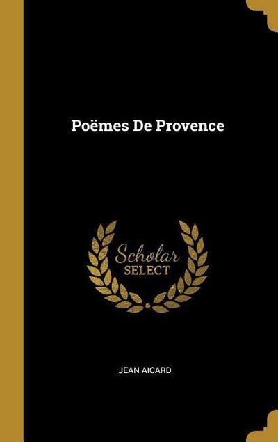 Poëmes de Provence