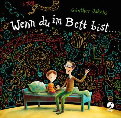 Wenn du im Bett bist ...; Ein Kalender zum Ausmalen; Deutsch; 12 Bl., Ill.