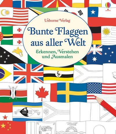 Bunte Flaggen aus aller Welt