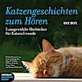 Katzengeschichten zum Hören - Die Box, 5 Audio-CDs