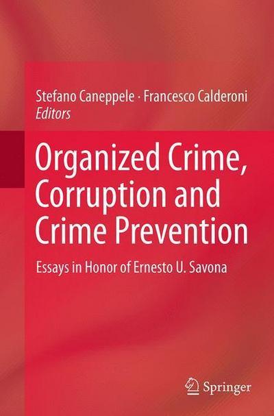 Organized Crime, Corruption and Crime Prevention