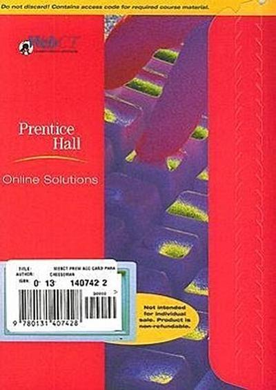WebCT Premium Access Card Paralegal