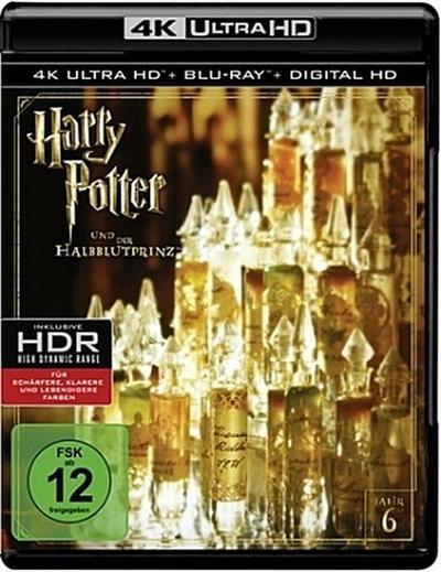 Harry Potter und der Halbblutprinz 4K, 2 UHD-Blu-rays