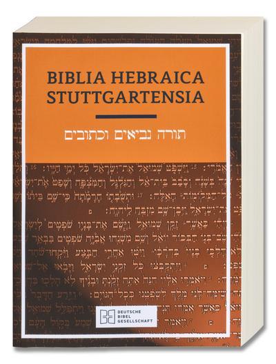Biblia Hebraica Stuttgartensia. Studienausgabe