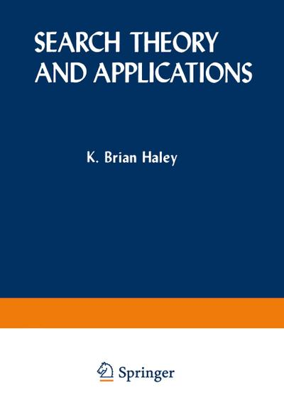Search Theory and Applications