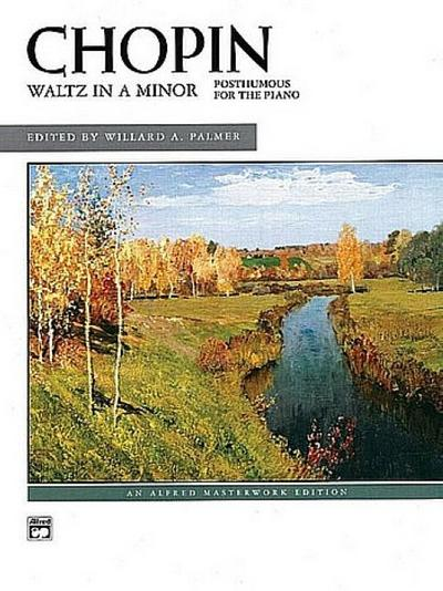 Waltz in a Minor: Posthumous for the Piano, Sheet