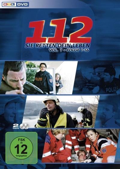 112 - Sie retten dein Leben - Vol. 1 - Folge 1 - 16 DVD-Box