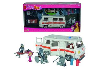 Masha Spielset 'Krankenwagen'