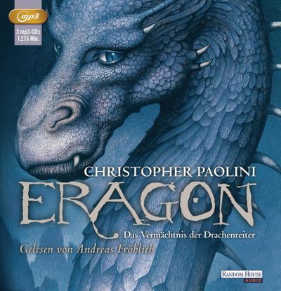 Eragon - Das Vermächtnis der Drachenreiter, 3 Audio,