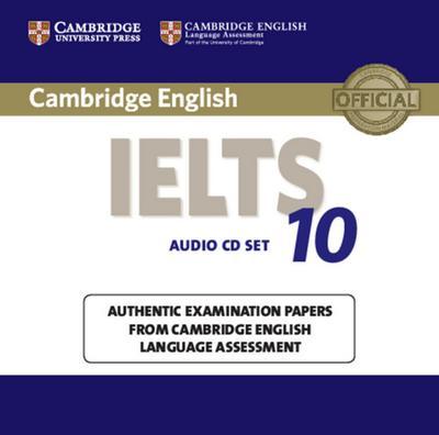 IELTS 10. 2 Audio CDs