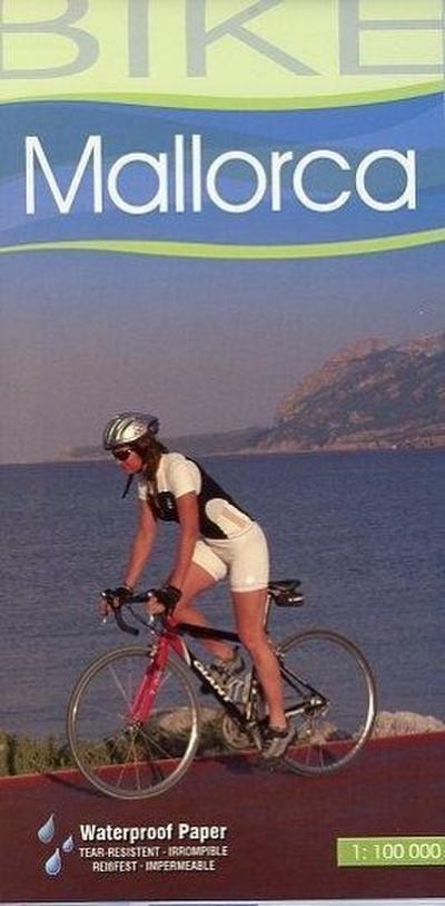 Radwanderkarte Bike Mallorca 1 : 100 000