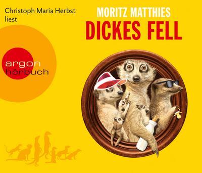 Dickes Fell, 4 Audio-CDs