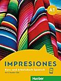 Impresiones A1. Kursbuch + Arbeitsbuch + 2 Au ...