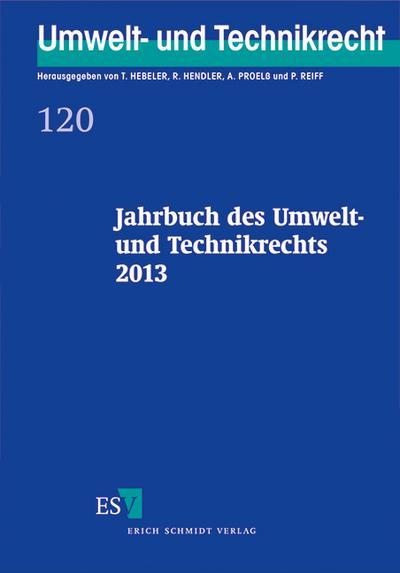 Jahrbuch des Umwelt- und Technikrechts 2013