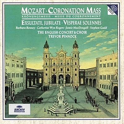 Mozart: Coronation Mass , Exsultate, jubilate, Vesperae Solennes