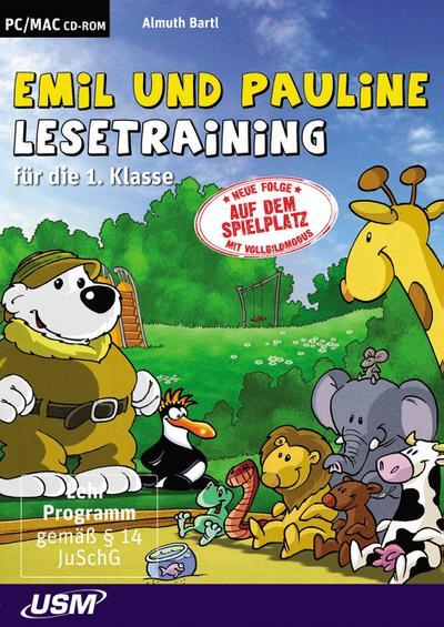 Emil und Pauline, Lesetraining für die 1. Klasse, 1 CD-ROM