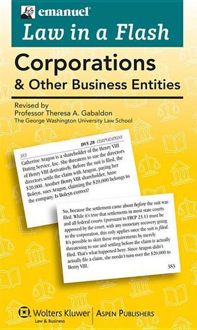 Corporations and Other Business Entities