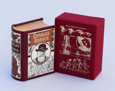 Charles Darwin (VORZUGSAUSGABE): Vorzugsausgabe mit Kopfgoldschnitt, limitiert und numeriert (250 Ex.) (Bildbände im Miniaturbuchverlag)