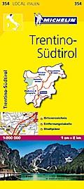 Michelin Lokalkarte Trentino - Südtirol 1 : 200 000