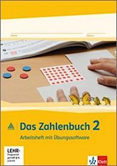Das Zahlenbuch. 2.Schuljahr. Arbeitsheft mit CD-ROM. Neubearbeitung