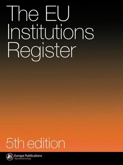 Eu Institutions Register