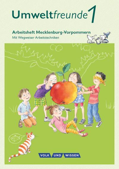 Umweltfreunde 1. Schuljahr. Arbeitsheft. Mecklenburg-Vorpommern