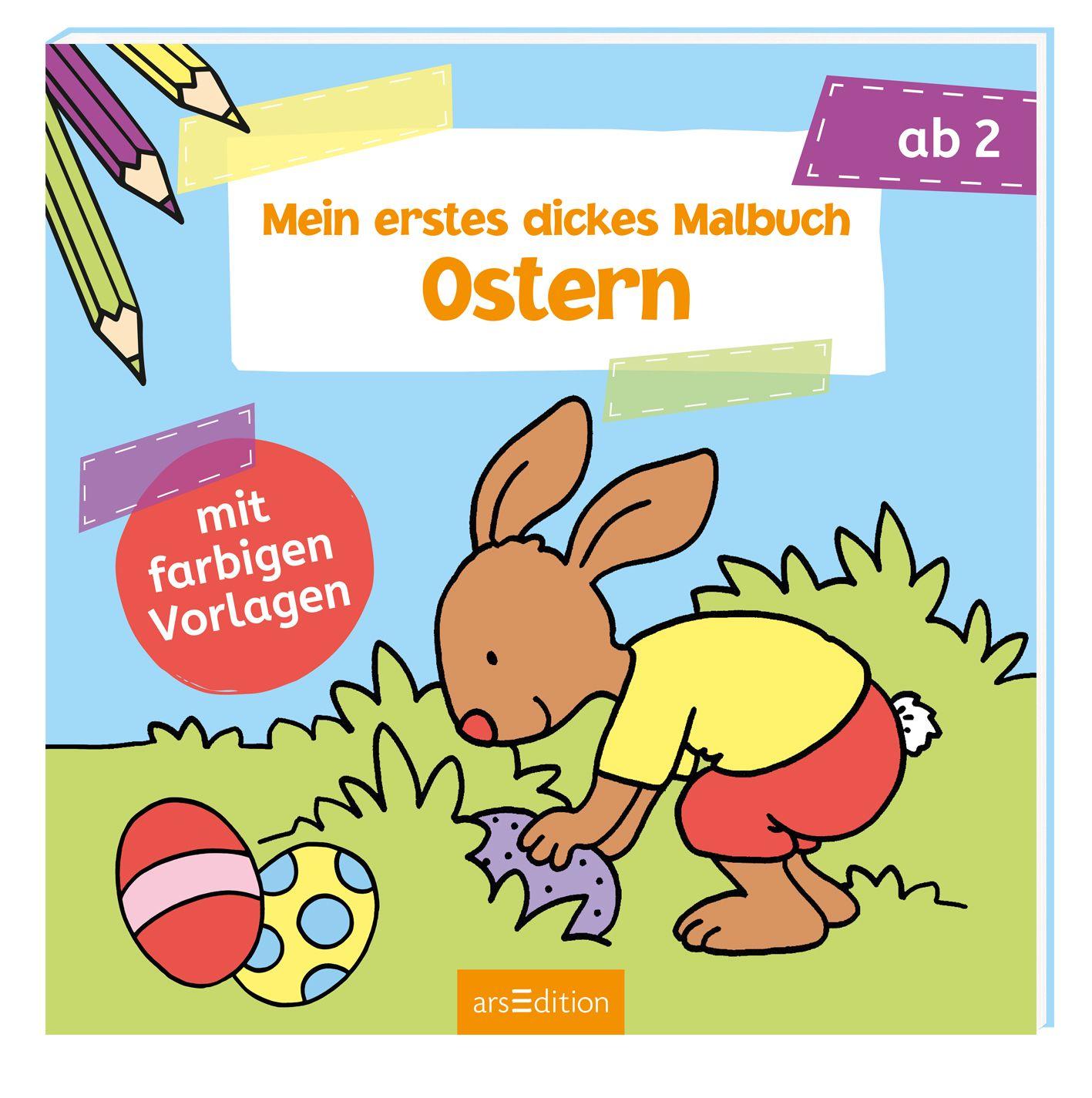 NEU Mein erstes dickes Malbuch Ostern Corina Beurenmeister 821733