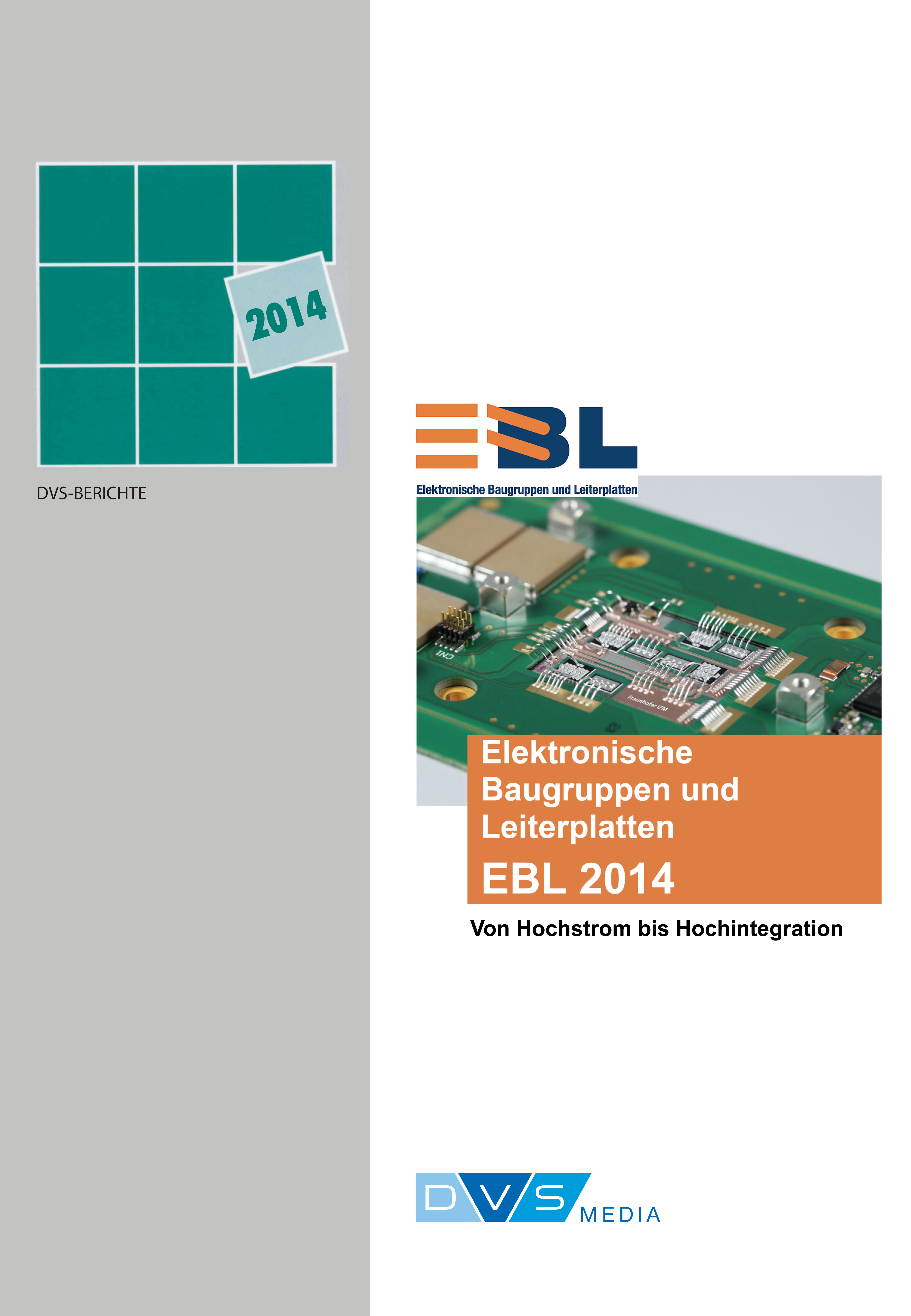 Elektronische Baugruppen und Leiterplatten EBL 2014 -  -  9783871555732