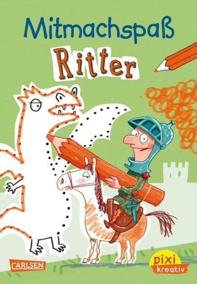 Pixi kreativ Nr.102: VE 5 Mitmachspaß Ritter (5 Exemplare)