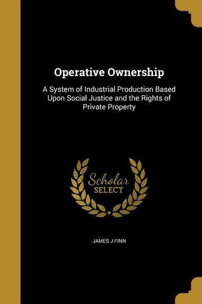 OPERATIVE OWNERSHIP