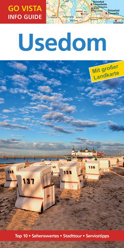 GO VISTA: Reiseführer Usedom (Mit Faltkarte)