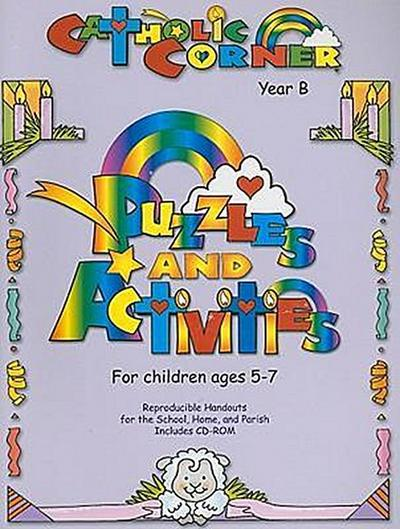 Puzzles & Activities for Children Ages 5-7: Year B [With CDROM]