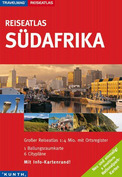 Reiseatlas : Südafrika