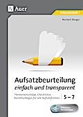 Aufsatzbeurteilung einfach und transparent 5-7