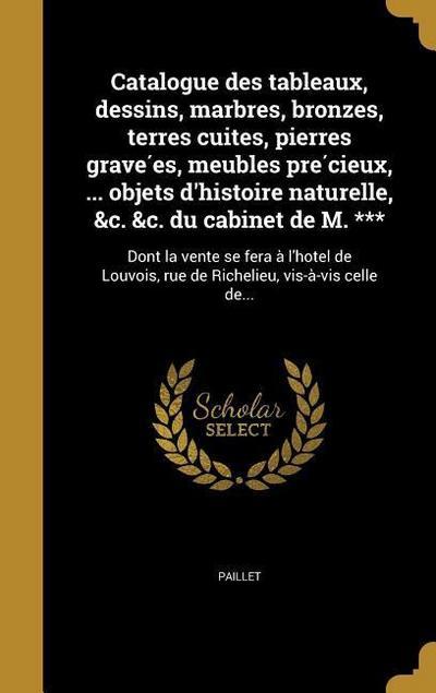 FRE-CATALOGUE DES TABLEAUX DES