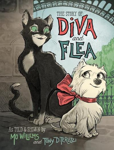 The Story of Diva and Flea - Disney-Hyperion - Gebundene Ausgabe, Englisch, Mo Willems, ,