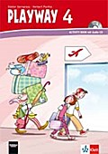 Playway 4. Ab Klasse 1. Ausgabe Hamburg, Nordrhein-Westfalen, Rheinland-Pfalz, Baden-Württemberg, Berlin, Brandenburg: Activity Book mit Audio-CD ... Für den Beginn ab Klasse 1. Ausgabe ab 2008)