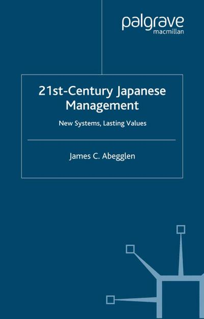 21st-Century Japanese Management
