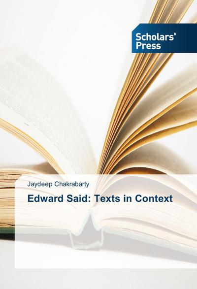 Edward Said: Texts in Context