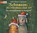 Schnauze, die Nikoläuse sind los; Eine Adventsgeschichte in 24 Kapiteln; Die Schnauze-Reihe; Ill. v. Swoboda, Annette; Deutsch