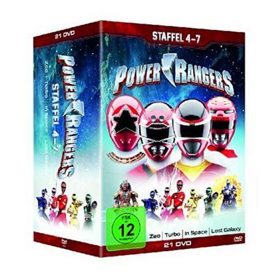 Power Rangers - Staffel 4-7